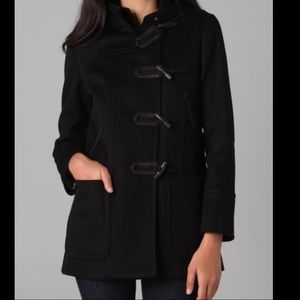 Rag & Bone Hooded Duffle Coat - Black